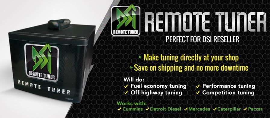 Remote Diesel Spec Tuner